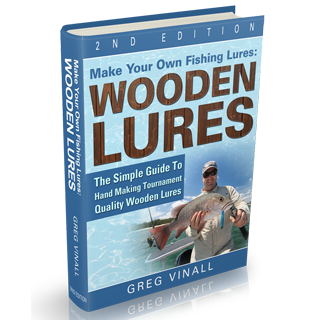 How to use screw eyes in wooden lure making for Create your own fish